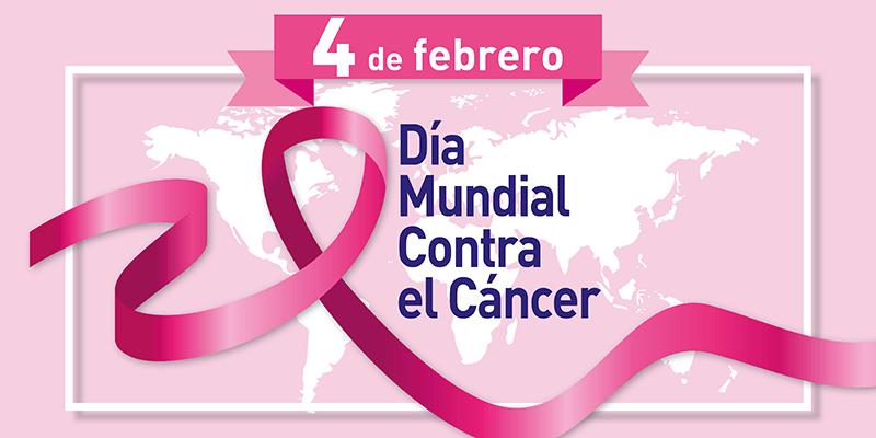 El 4 de febrero se celebra el Día Mundial Contra el Cáncer, cuyo objetivo principal es concienciar a la población